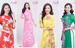 Thí sinh Hoa hậu Việt Nam 2018 khoe vẻ dịu dàng qua bộ ảnh áo dài