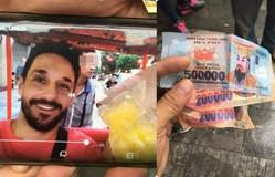Du khách nước ngoài bị trả lại bằng tiền âm phủ