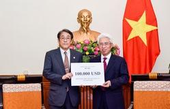 Việt Nam hỗ trợ Nhật Bản 100.000 USD khắc phục hậu quả mưa lũ