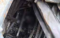 Hiện trường vụ cháy trên đường Đê La Thành: Phát hiện thi thể nạn nhân