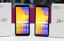 Samsung ra mắt Galaxy J4+ và J6+ giá mềm có camera kép