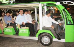 Thêm khu du lịch tại Cần Thơ đưa xe điện vào phục vụ du khách