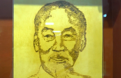 Chủ tịch Hồ Chí Minh qua những nét vẽ đặc biệt