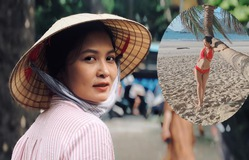 """Cô bán hoa khiến ông Sơn si mê trong """"Về nhà đi con"""" gây bất ngờ với nhan sắc ngoài đời"""