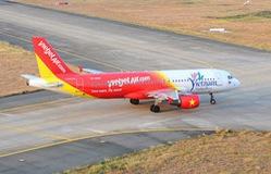 Vietjet ngừng khai thác nhiều chuyến bay đi Đài Loan (Trung Quốc) vì bão Lekima