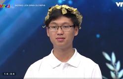 Nam sinh Quảng Nam giành chiến thắng Olympia tuần với điểm số gần 300
