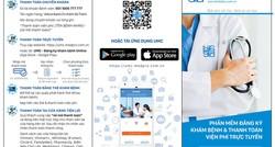 Ứng dụng đăng ký khám bệnh và thanh toán trực tuyến