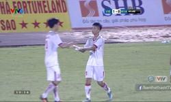 Phút 42: U21 Việt Nam 1-0 U21 Myanmar (Phan Văn Đức mở tỷ số)