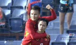 Phút 22: U23 Thái Lan 0-2 U23 Việt Nam (Công Phượng lập cú đúp)