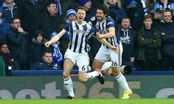 Vòng 23 Ngoại hạng Anh: West Bromwich Albion 2 - 0 Brighton & Hove Albion