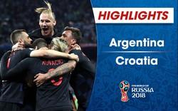 VIDEO HIGHLIGHTS: Argentina 0-3 Croatia (Bảng D FIFA World Cup™ 2018)