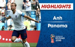 HIGHLIGHTS: Anh 6-1 Panama (Bảng G FIFA World Cup™ 2018)