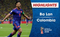 HIGHLIGHTS: ĐT Ba Lan 0-3 ĐT Colombia (Bảng H FIFA World Cup™ 2018)