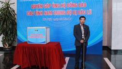 Đài THVN tổ chức lễ quyên góp ủng hộ đồng bào các tỉnh Nam Trung Bộ bị bão lũ