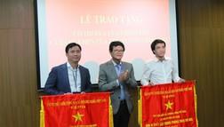 Trao tặng Cờ thi đua của Chính phủ cho Ban Sản xuất các chương trình Thể thao