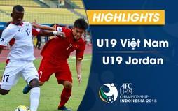 VIDEO: Tổng hợp diễn biến U19 Việt Nam 1-2 U19 Jordan (Bảng C VCK U19 châu Á 2018)