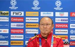 Họp báo Asian Cup 2019: HLV Park Hang Seo tự tin đối đầu với ĐT Jordan