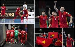 ĐT futsal Việt Nam chính thức giành vé vào vòng 1/8 FIFA Futsal World Cup Lithuania 2021™