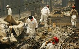 Số nạn nhân thiệt mạng trong vụ cháy rừng ở California, Mỹ tăng lên 44 người
