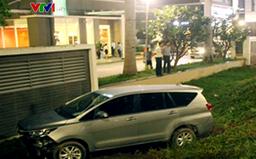 Ô tô tông hàng loạt xe máy ở TP.HCM, 1 người tử vong