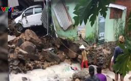 9 người chết và mất tích trong đợt mưa lũ ở Trung Bộ