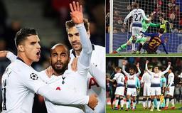 Kết quả bóng đá Champions League sáng 12/12: Barcelona 1-1 Tottenham, Inter 1-1 PSV Eindhoven, Liverpool 1-0 Napoli
