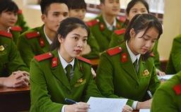 Điểm chuẩn các trường công an năm 2021