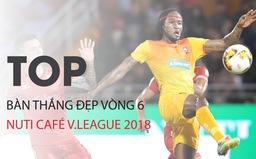 VIDEO: Chiêm ngưỡng những bàn thắng đẹp nhất vòng 6 Nuti Café V.League 2018