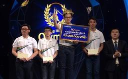 Nam sinh lập kỷ lục mới trong lịch sử 18 năm Đường lên đỉnh Olympia vào chung kết