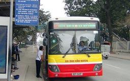 Thêm 2 tuyến xe bus phục vụ người dân đi lễ chùa Hương