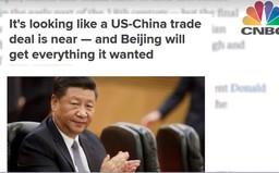 Giới đầu tư thận trọng về đàm phán Mỹ - Trung