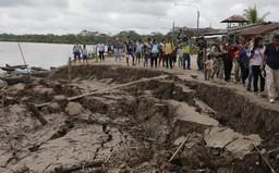 Động đất mạnh 8 độ richter làm rung chuyển Peru