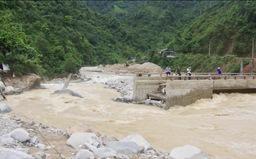 Lai Châu tập trung khắc phục mưa lũ và tìm kiếm người mất tích