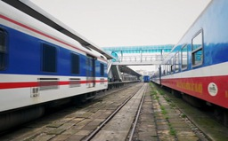 Đường sắt nối toa, tăng chuyến phục vụ dịp Quốc khánh