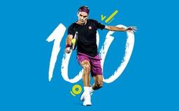 Roger Federer giành chiến thắng thứ 100 đầy kịch tính tại Australia mở rộng