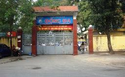 Học sinh lớp 8 ở Hà Nội ngã từ tầng 2 xuống sân trường