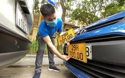 Gấp rút triển khai cấp đổi biển số vàng tránh xe hoạt động vận tải chui