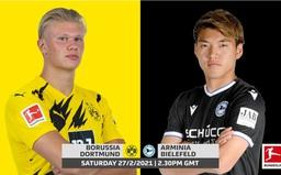 Dortmund - Arminia Bielefeld: Tiếp đà trở lại (21h30 ngày 27/2 trên VTV5, VTV6)