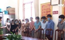 Bất chấp quy định phòng dịch COVID-19, 11 thanh niên tụ tập hát karaoke, sử dụng ma túy