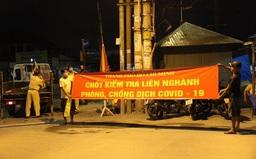 Từ 0h ngày 15/5, 12 chốt bắt đầu kiểm dịch ở các cửa ngõ TP Hồ Chí Minh