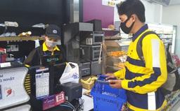 Be ngừng giao hàng và đi chợ hộ tại TP Hồ Chí Minh