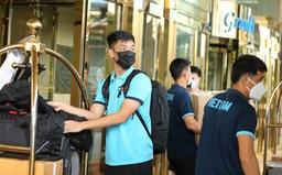 Cầu thủ ĐT Việt Nam hội quân, sẵn sàng cho trận gặp ĐT Trung Quốc