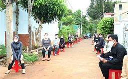 Đắk Lắk: Khẩn trương xét nghiệm COVID-19 ở thị xã Buôn Hồ