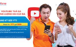 """""""Điểm danh"""" các gói 3G/4G đặc biệt truy cập YouTube của MobiFone"""