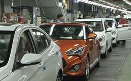 Sản lượng toàn cầu của 8 nhà chế tạo ô tô chủ chốt Nhật Bản giảm mạnh