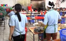 Bếp ăn của công ty TNHH Ha Hae Việt Nam không đạt điều kiện về vệ sinh ATTP