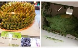 """Tai nạn khi mua hàng qua mạng: Đặt bánh sầu riêng 3D, nhận về """"quái vật đầm lầy"""""""