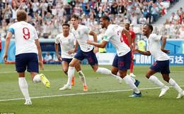 Ghi 5 bàn trong hiệp 1, ĐT Anh lọt top 4 siêu tấn công ở FIFA World Cup™