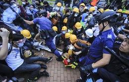 Các thủ lĩnh sinh viên Hong Kong (Trung Quốc) tuyên bố tiếp tục biểu tình