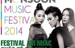 20h10 - VTV1: THTT Lễ hội âm nhạc quốc tế Gió mùa - Monsoon 2014